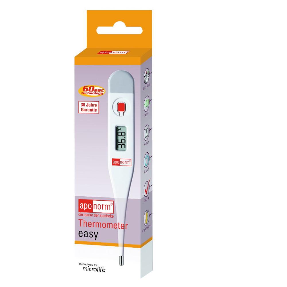 WEPA Apothekenbedarf GmbH & Co. KG aponorm Fieberthermometer easy 01174802