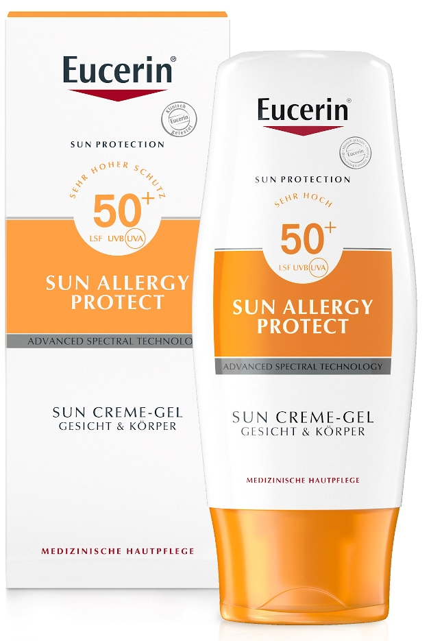 Beiersdorf AG Eucerin Eucerin Sonnen Allergie Schutz Creme-Gel LSF 50 07415483
