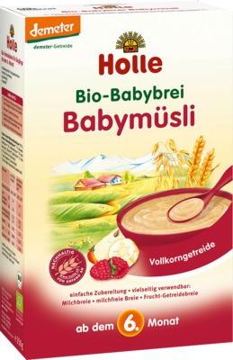 Holle baby food AG HOLLE Bio Babybrei Babymüsli 02909269