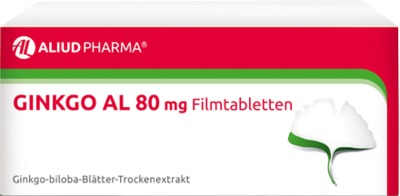 ALIUD Pharma GmbH Ginkgo AL 80mg 06565128