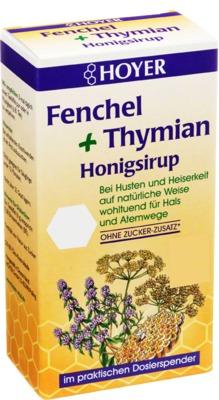 HOYER GmbH HOYER Fenchel+Thymian Honigsirup 05567579