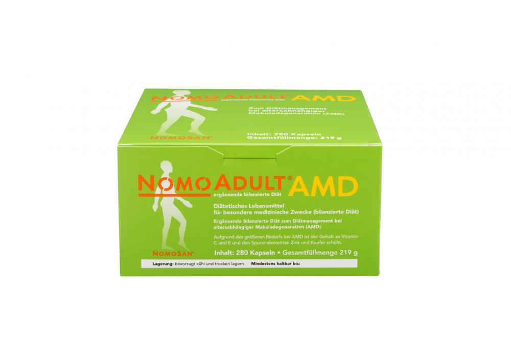 NOMOSAN GmbH NOMOADULT AMD Kapseln 01087167