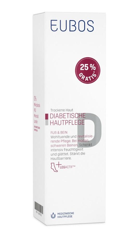 Dr. Hobein (Nachf.) GmbH med. Hautpflege EUBOS DIABETISCHE HAUTPFLEGE FUSS & BEIN 16827032