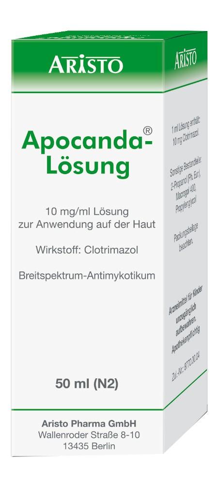 Aristo Pharma GmbH Apocanda 04292146