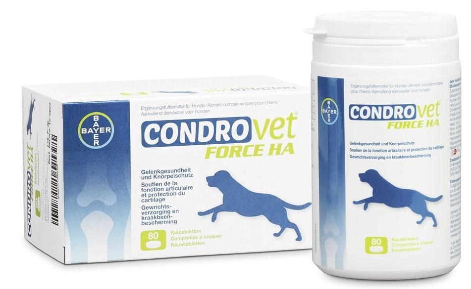 Condrovet Force HA Kautabletten für Hunde