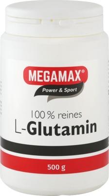 Megamax B.V. GLUTAMIN 100% rein Megamax Pulver 06705687