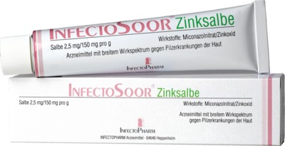 Infectopharm Arzneimittel und Consilium GmbH InfectoSoor Zinksalbe 08497862