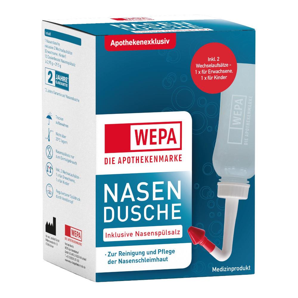 WEPA Apothekenbedarf GmbH & Co. KG WEPA Nasendusche inklusive Nasenspülsalz 13712357