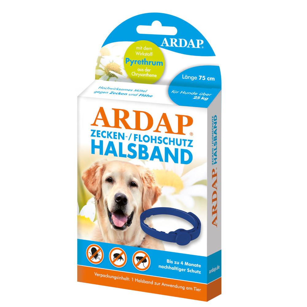 ARDAP ZECKEN-/FLOHSCHUTZ HALSBAND für Hunde über 25 kg