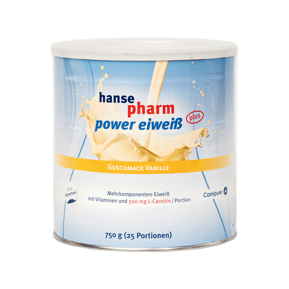 NUTRICHEM Diät + Pharma GmbH HANSEPHARM Power Eiweiß plus Vanille Pulver 08798173