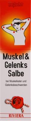 Hager Pharma GmbH RIVIERA Muskel & Gelenkssalbe 10000739