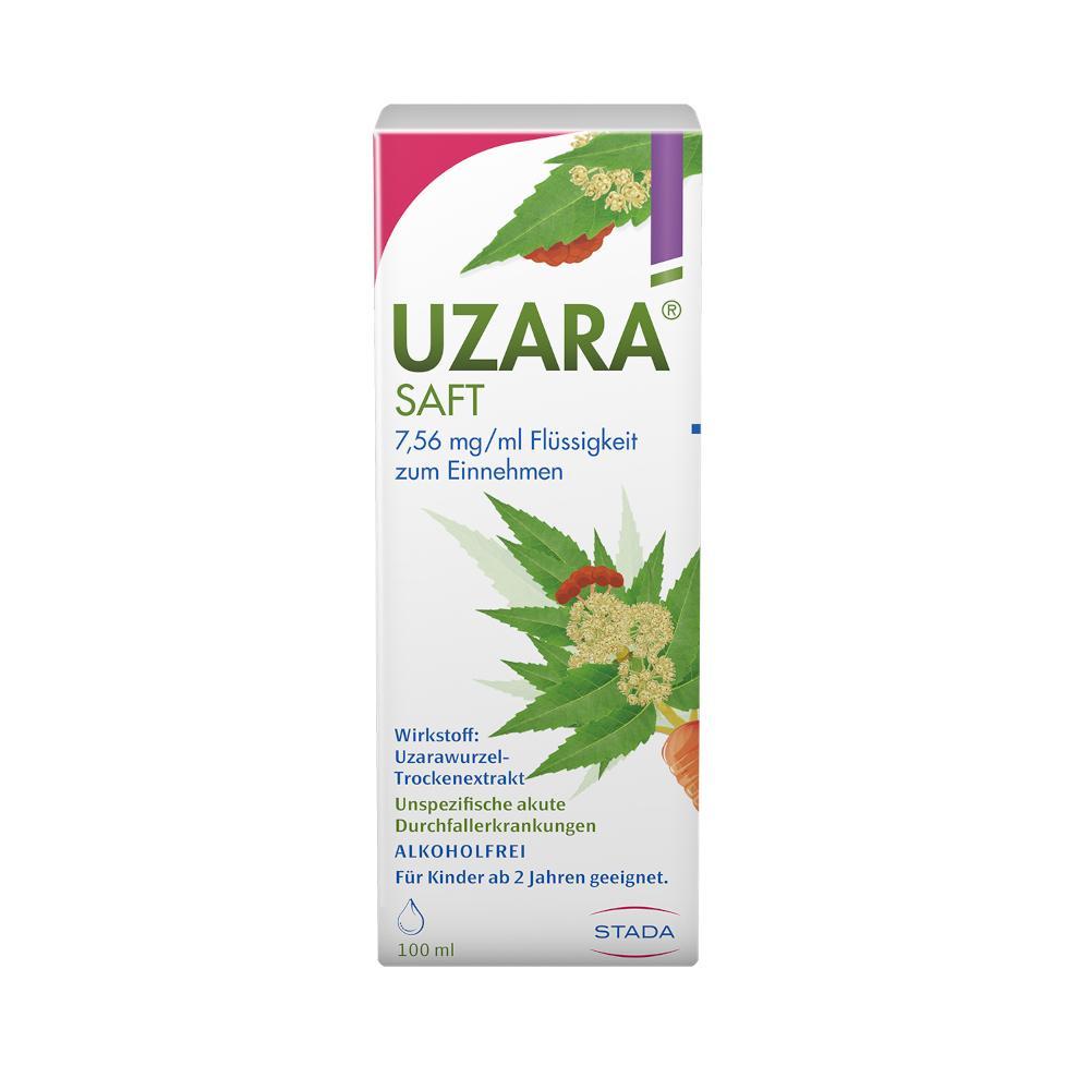 STADA Consumer Health Deutschland GmbH UZARA SAFT 7,56mg/ml 08911557