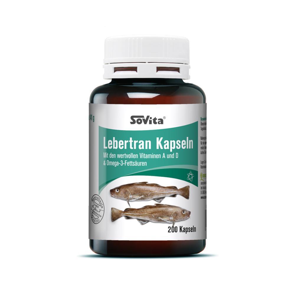 Ascopharm GmbH SOVITA care LEBERTRAN Kapseln 10012487