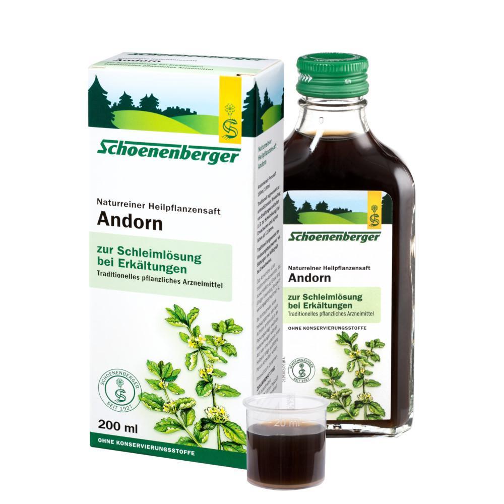 SALUS Pharma GmbH Andorn naturreiner Heilpflanzensaft Schoenenberger 02640583