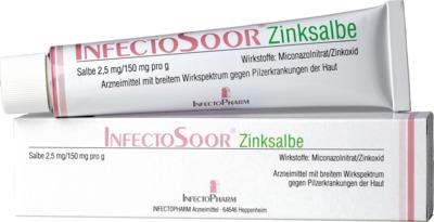 Infectopharm Arzneimittel und Consilium GmbH InfectoSoor Zinksalbe 08497856