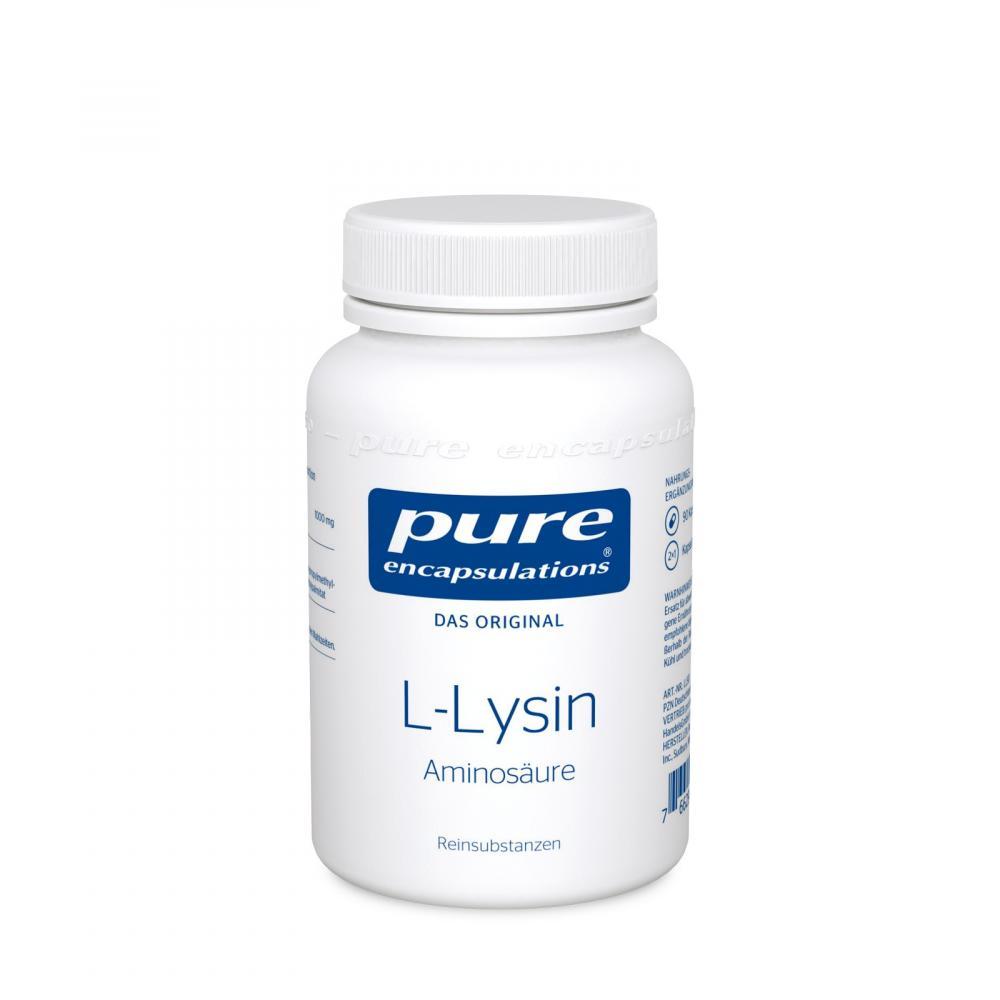 PURE ENCAPSULATIONS L-Lysin Kapseln
