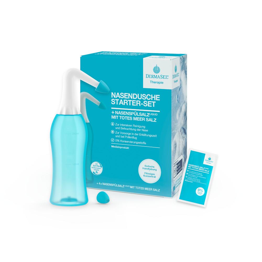 Fette Pharma GmbH DERMASEL Therapie Nasendusche Starter-Set 14242439