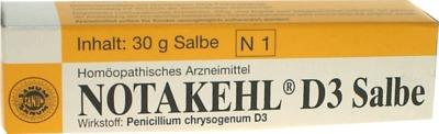 Sanum-Kehlbeck GmbH & Co. KG NOTAKEHL D 3 Salbe 03685748