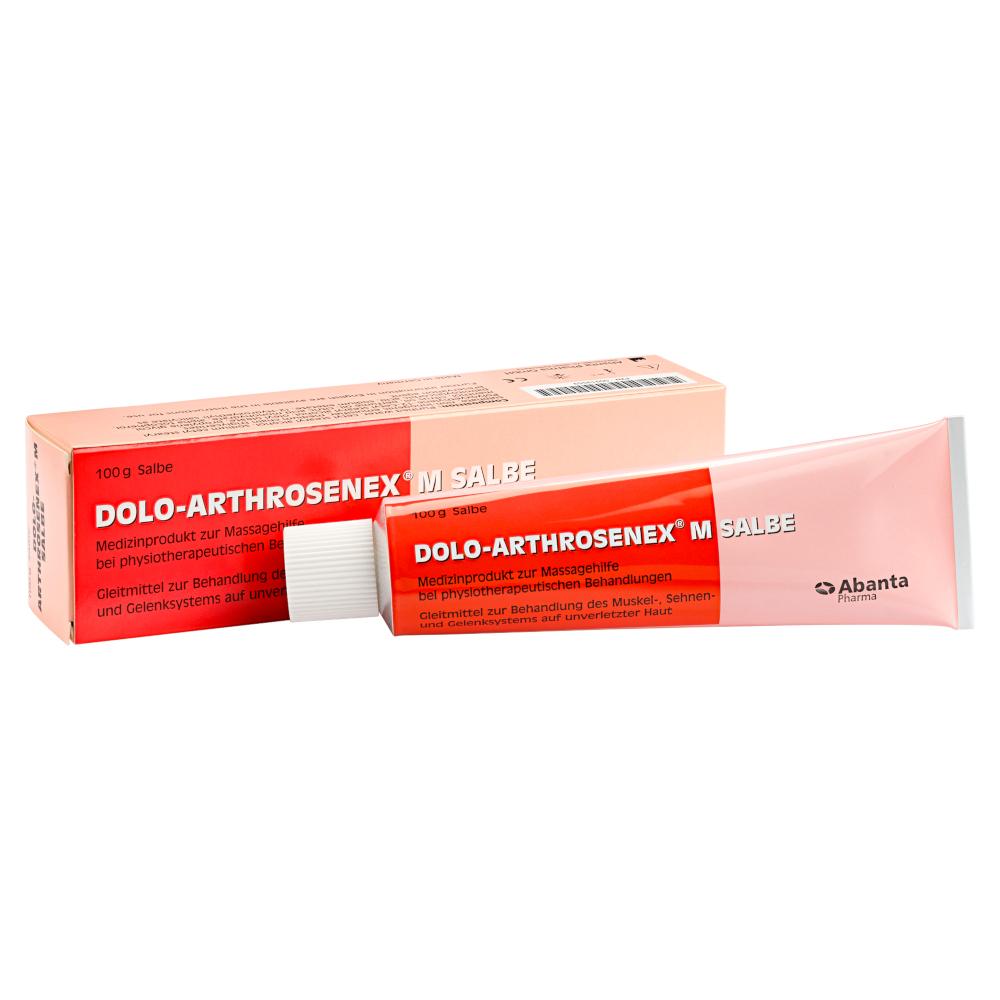 Abanta Pharma GmbH DOLO-ARTHROSENEX M Salbe 00919559