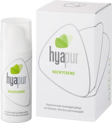 Hyapur Deutschland GmbH HYAPUR GREEN Nachtcreme 10011281