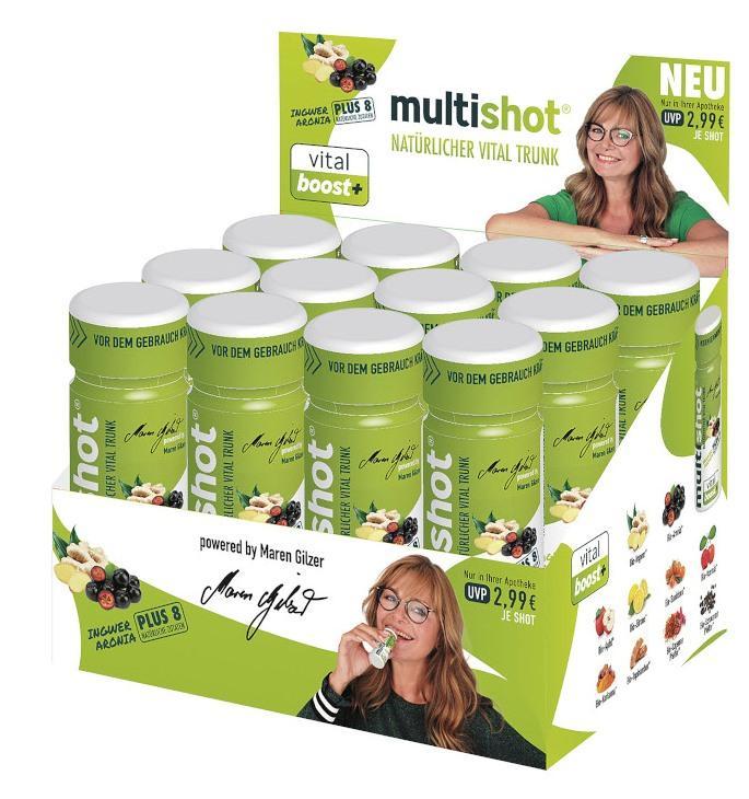 Medi-C-Shot GmbH, Geschäftsführer: Marion Gilzer-Kuhlmann und Harry Kuhlmann multishot vital boost + 16148785