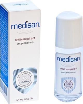 Curaskin Medikosmetik MEDISAN Plus Antitranspirant Roll-on 04601771