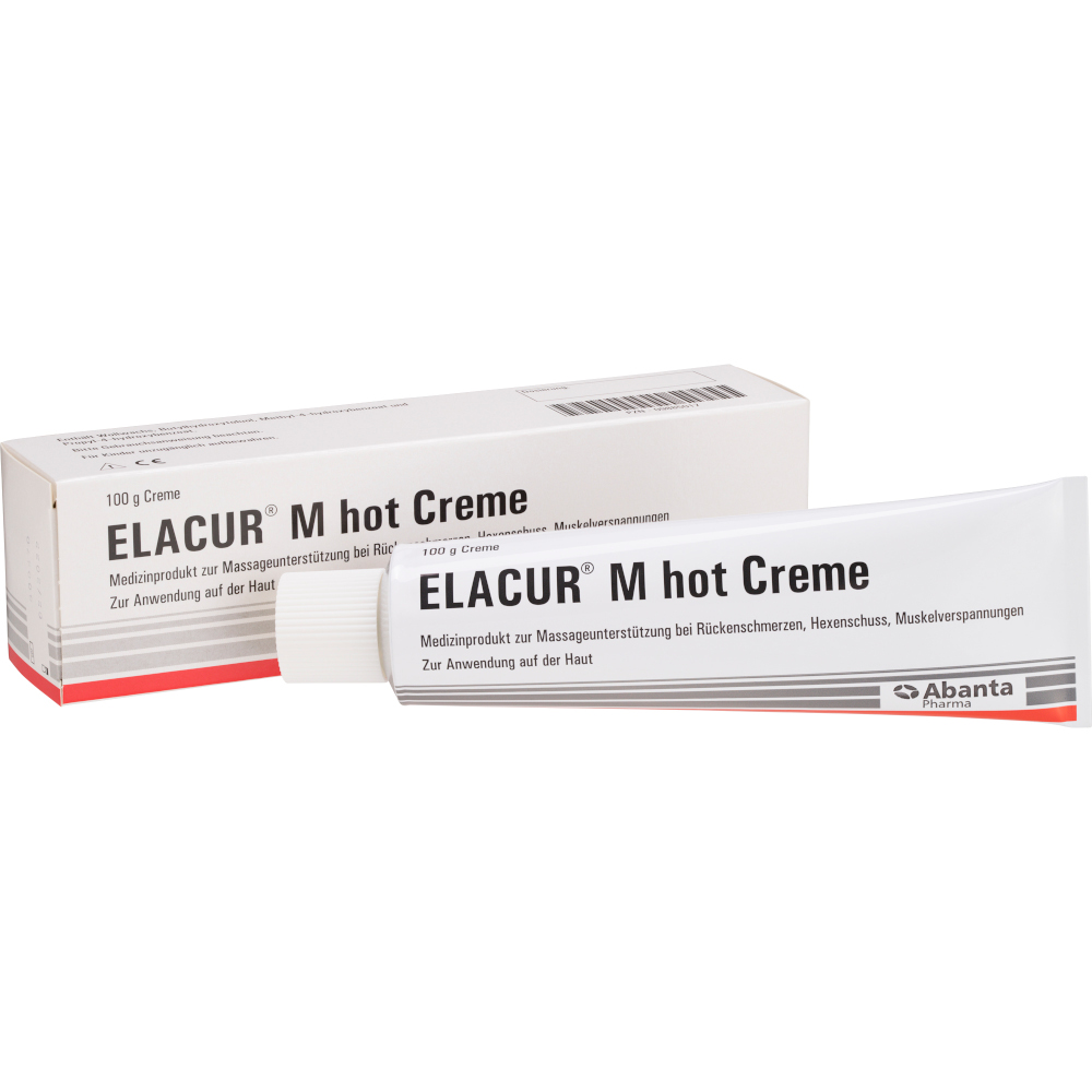 Abanta Pharma GmbH ELACUR M hot Creme 09885017
