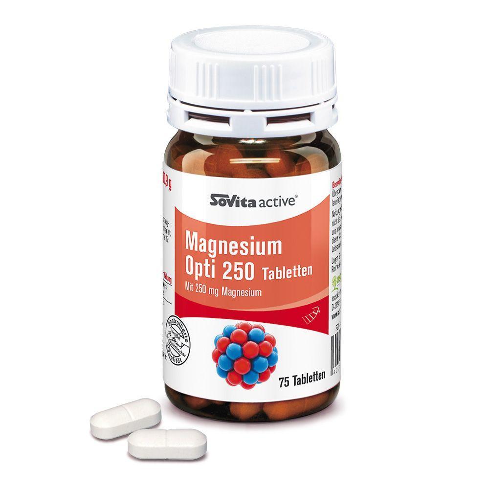 Ascopharm GmbH SOVITA active Magnesium OPTI 250 06329959
