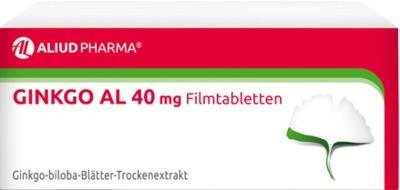 ALIUD Pharma GmbH Ginkgo AL 40mg 06565080
