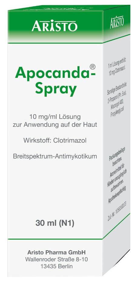 Aristo Pharma GmbH Apocanda-Spray 10mg/ml 04292123