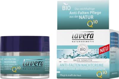 Laverana GmbH & Co. KG LAVERA basis sensitiv Nachtcreme Q10 dt 10787751