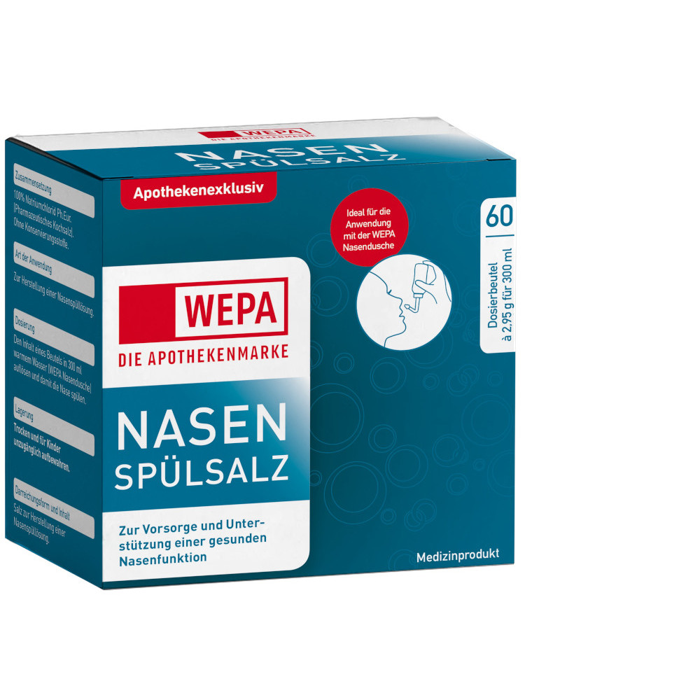 WEPA Apothekenbedarf GmbH & Co. KG WEPA Nasenspülsalz 14256269