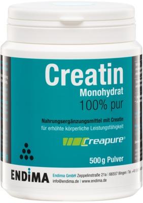 CREATIN MONOHYDRAT 100% Pur Pulver