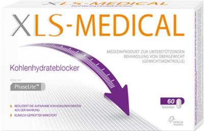 XLS Medical Kohlenhydrateblocker Tabletten