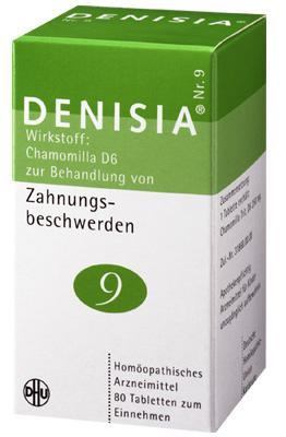 DHU-Arzneimittel GmbH & Co. KG DENISIA 9 Zahnungsbeschwerden Tabletten 08494349