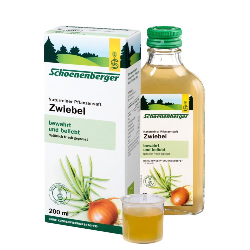 SALUS Pharma GmbH ZWIEBELSAFT naturrein Schoenenberger 01159524