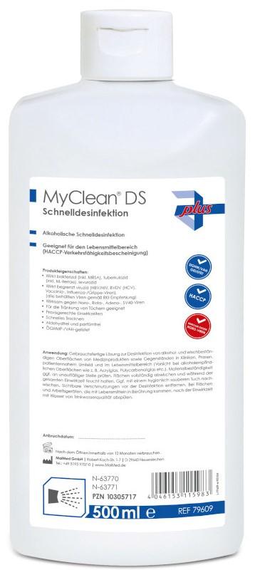 MYCLEAN DS Schnelldesinfektion neutral Serie plus