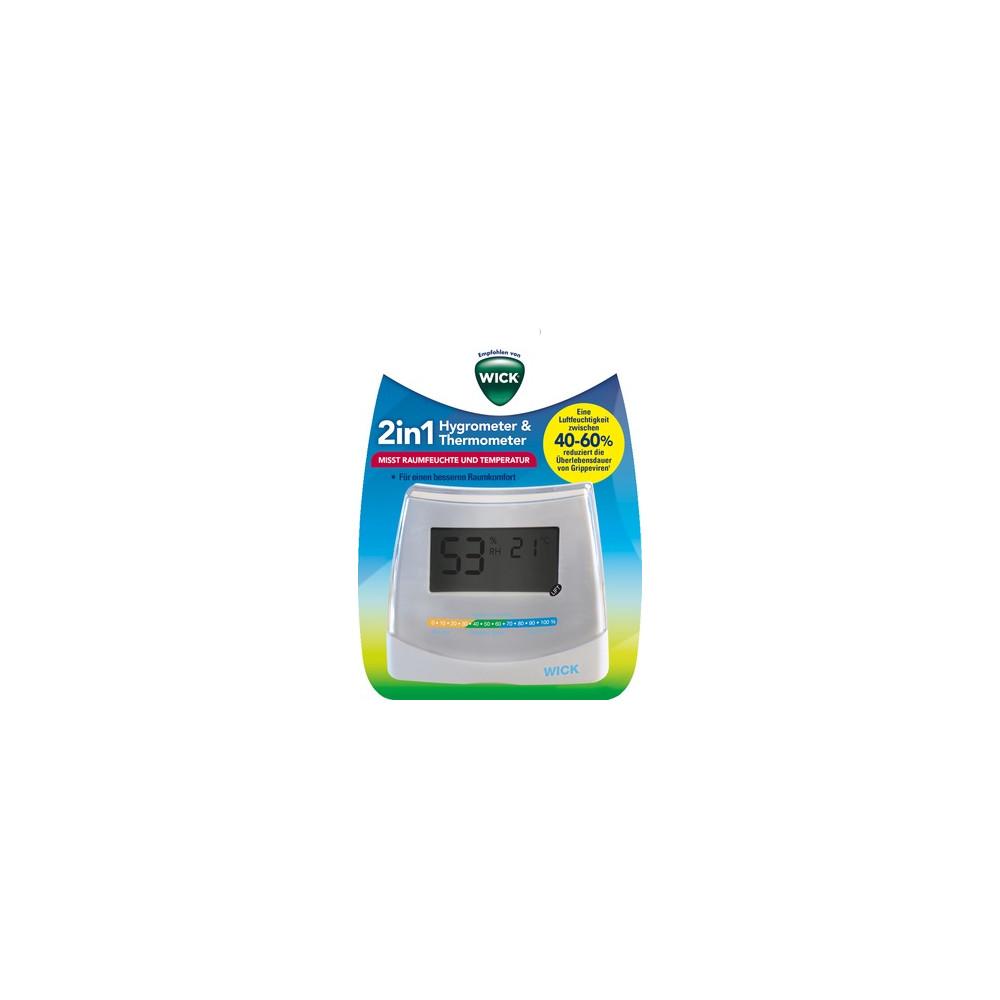 KAZ Europe S.A. WICK Hygrometer u.Thermometer W70DA 06176007