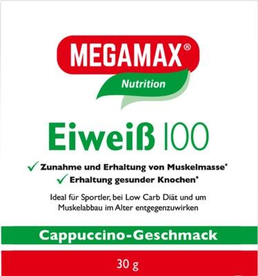 Megamax B.V. EIWEISS 100 Cappuccino Megamax Pulver 09198067