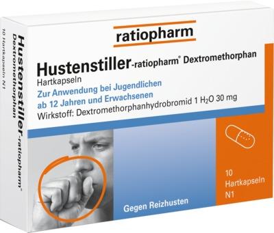 ratiopharm GmbH Hustenstiller-ratiopharm Dextromethorphan 09230807
