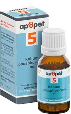 apopet Schüßler-Salz Nummer 5 Kalium phosphoricum D 6 veteri