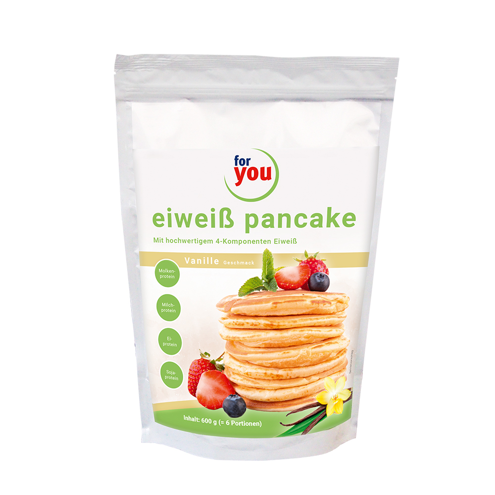 For You eHealth GmbH FOR YOU eiweiß pancakes Vanille Pulver 13361432