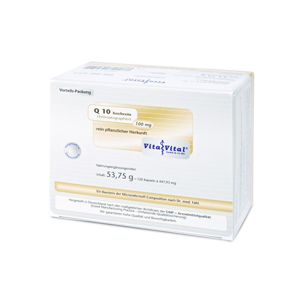 Vita Vital GmbH & Co. KG Q10 hochrein chromatographiert 100mg 00602035