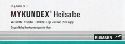 RIEMSER Pharma GmbH Mykundex Heilsalbe 01074408