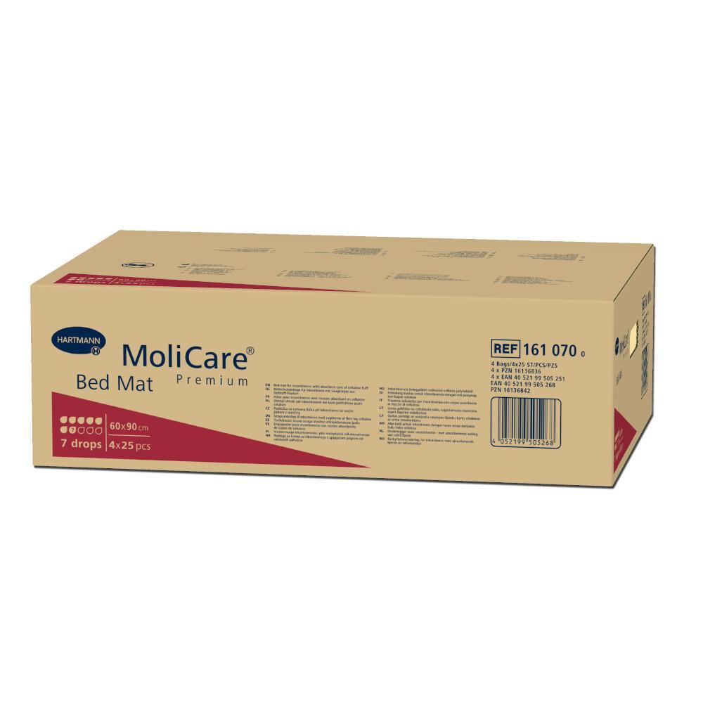 MoliCare Premium Bed Mat 7 Krankenunterlagen 60x90cm