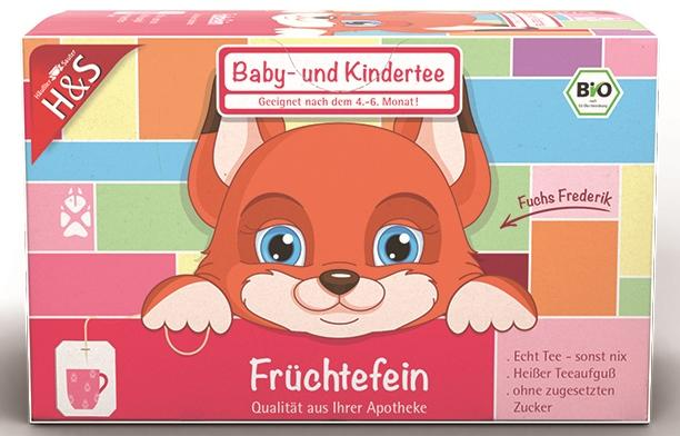 H&S Tee-Gesellschaft mbH & Co. KG H&S Früchtefein Baby- und Kindertee Bio 14264234