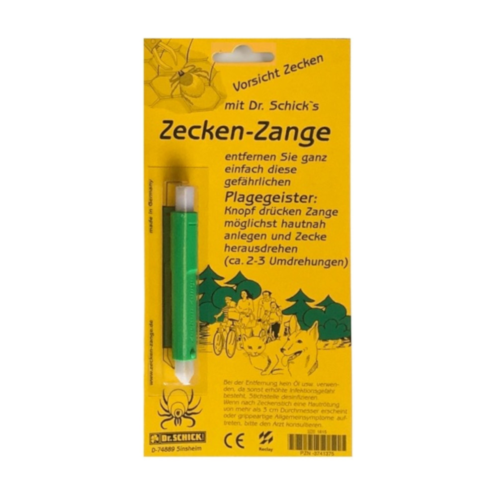 Zecken-Zange