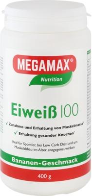 Megamax B.V. EIWEISS 100 Banane Megamax Pulver 07378173