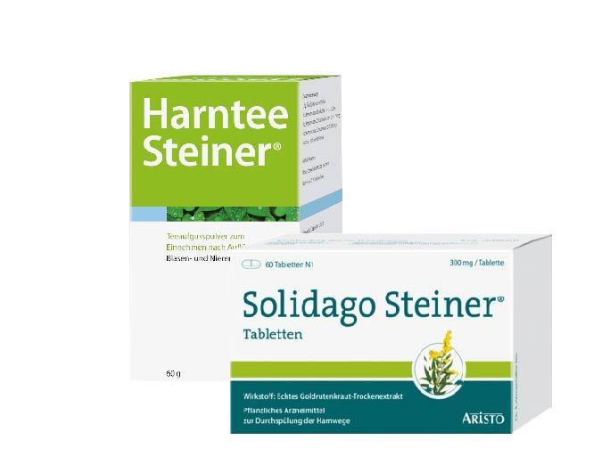 Diverse Salidago Steiner + Harntee Steiner Set 81896432