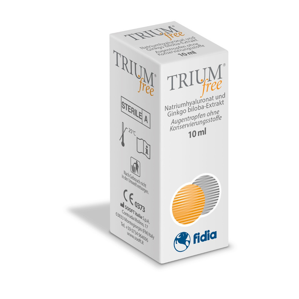 Fidia Pharma GmbH Trium free Augentropfen 15407977